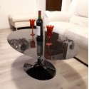105 x 70 cm Oval Tulip Coffee table
