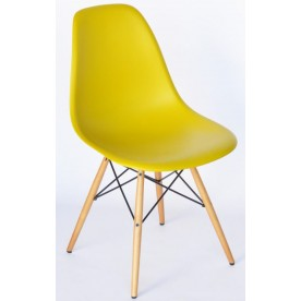 DSW Chair Charles Eames Yellow